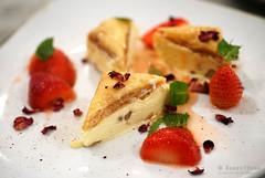 20170502-52-Baklava with frozen strawberries at Blackfooted Pig in Hobart (Roger T Wong) Tags: 2017 australia blackfootedpig hobart iv metabones rogertwong sigma50macro sigma50mmf28exdgmacro smartadapter sonya7ii sonyalpha7ii sonyilce7m2 tasmania baklava dessert dinner food restaurant strawberry