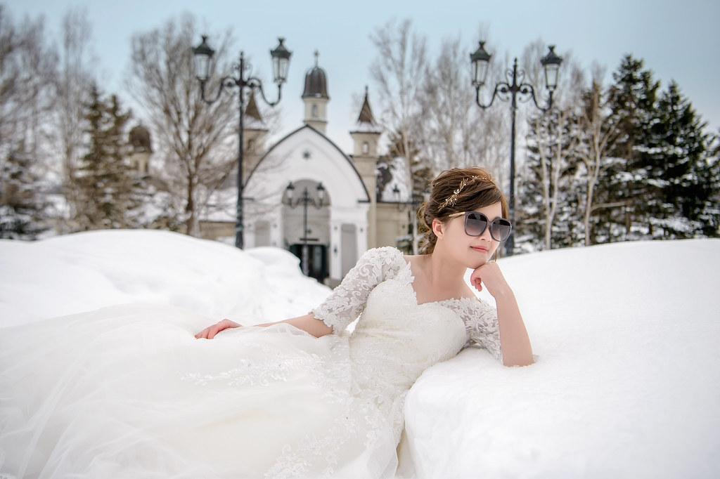 北海道雪景婚紗,北海道婚紗推薦