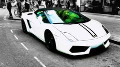 Lamborgini (mik-shep) Tags: 365the2017edition day126365 day126 2017onephotoeachday 3652017 6may17 lamborgini white bristol cabotcircus street