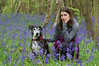 Max and Phoebe amongst the Bluebells (favmark1) Tags: 365challenge 2017 365 day126 max phoebe bluebells kent