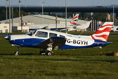 G-BGYH Piper PA28-161 EGPF 06-05-17 (MarkP51) Tags: gbgyh piper pa28161 pa28 cherokee warrior ii light aircraft generalaviation glasgow airport gla egpf scotland aviation plane image markp51 nikon d7100 aviationphotography