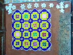IMG_20161030_034044 (bhagwathi hariharan) Tags: rangoli kolam powder flour diwali maakolam riceflour carpet festival