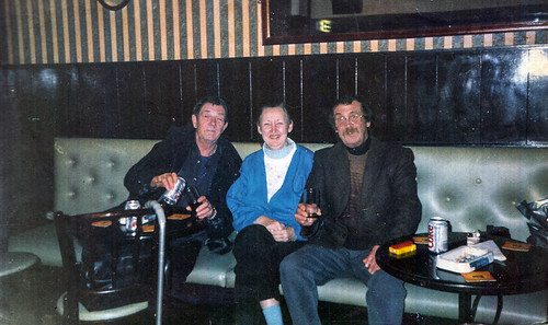 Elder's Thompson, Janet Morgan Ian Hamilton Elders Bar Tollcross 1990s