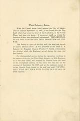 1922-09-21-Organization Day program-03 (Old Guard History) Tags: 1922 3dusinfantryregimenttheoldguard fortsnelling minnesota organizationday