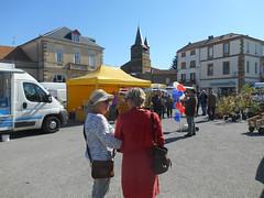 Market Square, Castelnau-Magnoac (RobW_) Tags: ritsa fida market day castelnaumagnoac hautespyrénées occitanie gascony france saturday 08apr2017 april 2017