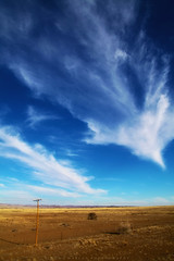 Trails (simonjmarlan) Tags: namib namibia desert clouds rocks wide