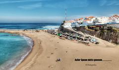 Leider bin ich im Urlaub krank geworden und mußte die Portugal Rundreise abbrechen ..................in Explorer 19.05.2017 (petra.foto busy busy busy) Tags: portugal strand fischerboote atlantic ericeira fotopetra canon beach eos70d holiday urlaub