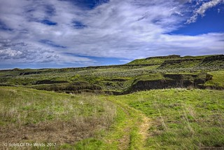 The Scablands Of The Palouse Falls Area