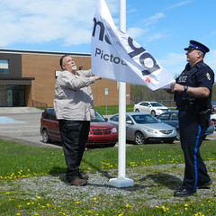 Westville Flag Raising May 2017 (madd Pictou County) Tags: westville impaired driving madd awareness