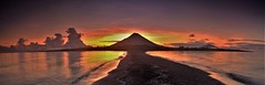 Isla Ometepe (Travicted Photography) Tags: travel centralamerica centroamerica nicaragua isladeometepe ometepe volcano volcan concepcion volcanconcepcion puntajesusmaria playa beach lake lago panorama