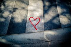 Written on stone (rg69olds) Tags: 04222017 24mm eos6d nebraska sigma24mmf14artdghsm canon oldmarket omaha people portrait sigma sigma24mmf14 sidewalk written heart love stone 24mmf14dghsm|a