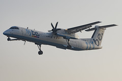 G-ECOR / Bombardier DHC-8Q-402 / 4248 / FlyBE (A.J. Carroll (Thanks for 1 million views!)) Tags: gecor bombardier dhc8q402 dhc8400 dhc8 dh84 d84 dh8 4248 pw150a flybe nordicaviationcapital 405fd4 london heathrow lhr egll 27r