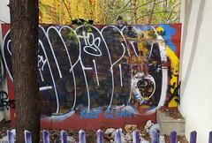 Keep Clean Squirrel (Exile on Ontario St) Tags: squirrel écureuil keep clean chinatown placesunyatsen public place sunyatsen sun yat sen montreal square park parc montréal quartierchinois graffiti quartier chinois trash déchets filth propreté cleanliness saleté dirty dirtyness dirt garbage poubelle poubelles fence clôture animal