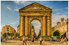 Bordeaux (regis.muno) Tags: arcdetriomphe placedelavictoirebordeaux bordeaux aquitainenouvelle aquitainefrancenikon d70hdr aquitaine france