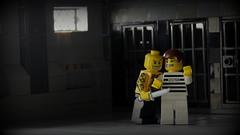 Shanked (Brick Police) Tags: lego prisoner jail prison minifig