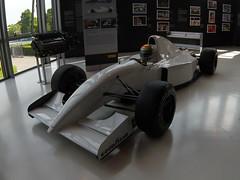 McLaren MP4/8 Lamborghini (Marc Sayce) Tags: mclaren mp4 8 mp48 v12 engine helmet ayrton senna f1 formula 1 one grand prix car lamborghini museum museo factory sant agata bolognese italy italia mclarenmp48b