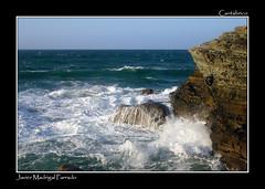 Cantábrico bravo. (jmadrigal09) Tags: jmadrigal mar sea cantábrico playadelascatedrales paisaje landscape marina