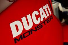 Ducati Monster (Vincent Prdm) Tags: moto motorcycle byke motorbike ducati monster ducatimonster réservoir