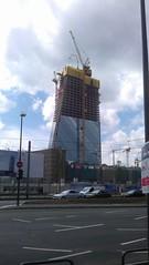 Bau der EZB in Frankfurt am Main (Rubibubi) Tags: ezb frankfurt main hochhaus skyscraper