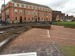 IMG_1742 Roman amphitheater, Chester, UK (3) (archaeologist_d) Tags: chester england uk romanamphitheatre romanruins archaeologicalsite archaeologicalruins