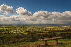 Malvern hills - looking towards Wales (stevehimages) Tags: malvern hills countryside wowzers warden worcestershire steve steveh stevehimages higgins grandpas grandpasden den 2017 outdoors spring