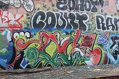 Oc, Count (NJphotograffer) Tags: graffiti graff new jersey nj bridge trackside rail railroad oc mhs crew count