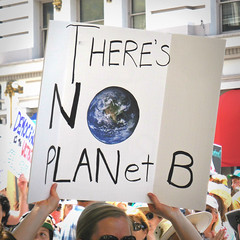 One Planet (Dom Guillochon) Tags: urban city time life reality dream existence being nothingness humans people expression living roam wandering downtown sandiego california usa sciencemarch signs earth science facts multiverse one planet