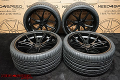 ferrada-fr2-matte-black-6341-01 (Need_4_Speed Motorsports) Tags: ferrada fr2 matte black wheels hankook rims wheel