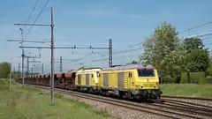 BB 75027 en UM et fret (SylvainBouard) Tags: train railway sncf bb75000 fret