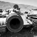 Pentax 645N Ilford HP5+ Afghanistan Russian tank