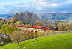 46115 Scots Guardsman, Crosby Garrett, Cumbria (big.al1946) Tags: railway steamrailway steamtrain steam train alanweaver smoke signals signalbox 46115scotsguardsman crosbygarret cumbia viaduct appley cumbria unitedkingdom