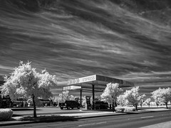 uncertainty and probability (** RCB **) Tags: 2017 2017118 gasstation clouds 365 mundane