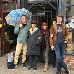 Here we are in front of Load Street Studios where we will be rehearsing in the AM for tomorrow evening's gig @musicinthehallbewdley #excited 🎸 #sixties and #nineties #british influenced #rock #psychedelic #mod #lightshow #uk