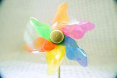Spin Me around.. (ShannonVanB) Tags: macromondays intentionalblur blur pinwheel spin upclose colorful