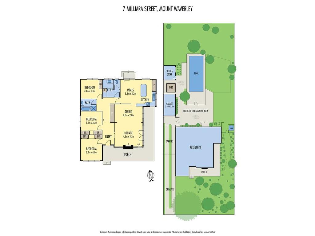 7 Milliara Street floorplan