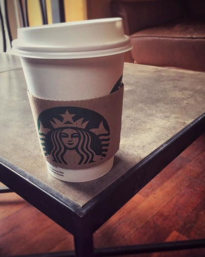 2017-04-26 grabbing an Americano with a dear friend