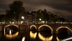 Prinsengracht Amsterdam (Pearse Mac) Tags: createdbypearsemacintyre amsterdam night long exposure ireland explore art artistic port test tranquil today style urban canal netherlads