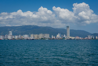 Penang Island View from The Ferry