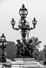 Pont Alexandre III (Didier Mouchet) Tags: paris pontalexandreiii seine architecture noiretblanc didiermouchet d5300 nikond5300 nikon blackandwhite bw îledefrance france monochrome candélabre réverbère