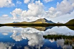 Lochan an Ais (andrewmckie) Tags: lochananais stacpollaidh assynt scotland scottishscenery scenery landscape breathtakinglandscapes reflections water sky clouds outdoor culbeag mountains corbett