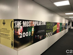Corporate Office Branding (C2 Imaging) Tags: c2imaging print graphics timeline history retail corporate office branding
