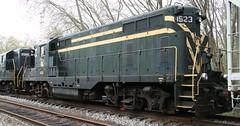 CNJ 1523 Front (kitmasterbloke) Tags: tuckahoe nj usa jersey railroad tourist iutdoor transport diesel locomotive train