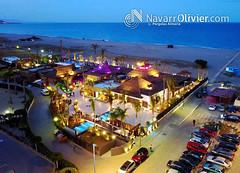 Maraú Beach Club - Puerto Rey (NavarrOlivier - Estructuras de madera - Pergolas y) Tags: beachclub chiringuito puertorey vera almeria restaurante dron cenital chillout nigthlife mediterráneo andallucia almería