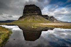 (Olmux82) Tags: iceland islanda water clouds reflection mountain rocks summer nikon d750 south