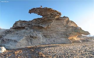 Formas caprichosas en Los Escullos (Almería)