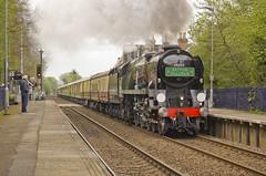 WC no.34046 'Braunton' (alts1985) Tags: wc no34046 braunton bob no34052 lord dowding belmond surrey hills pullman main line steam train chilworth 280417