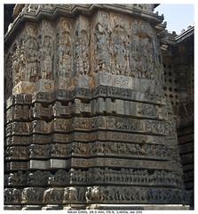 Old and New (vatsaraj) Tags: halebidu halebeedu ancient temple architecture stonetemple stonearchitecture hoysala hoyasala nikon d300 vatsaraj cvatsaraj