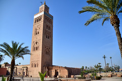 Koutoubia Mosque & Minaret (itchypaws) Tags: marrakech marrakechtensiftalhaouz morocco ma koutoubia mosque minaret