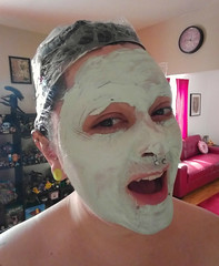 (efromthenet) Tags: facemask hairdye