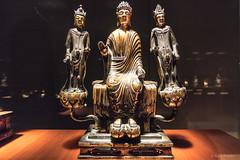 Amida (Amitabha) and two Attendants, Asuka period, 7th century (Anita Pravits) Tags: 7jahrhundert 7thcentury amida amitabha asukaperiod bronze horyujitempel horyujigalerie japan nara nihon nippon schatz tnm thegalleryofhoryujitreasures tokio tokyo tokyonationalmuseum templehoryuji treasure